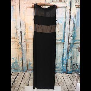 New Joseph Ribkoff Black Straight Maxi Dress 10